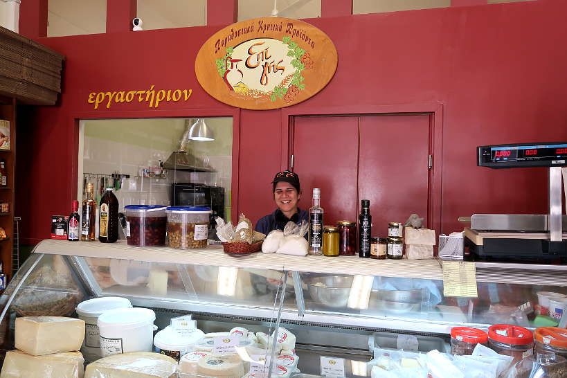 Clara at Epi Chania Crete by AuthenticfoodQuest
