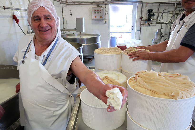 Cretan Cheese Production by Authentic Food Quest