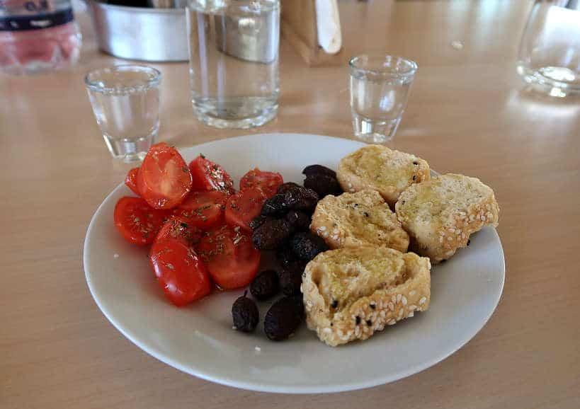 Cretan meze by Authentic Food Quest for food in Crete