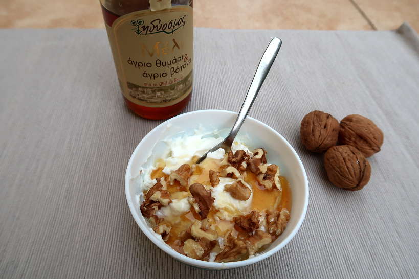 Greek Yogurt With Honey and Walnut by AuthenticFoodQuest