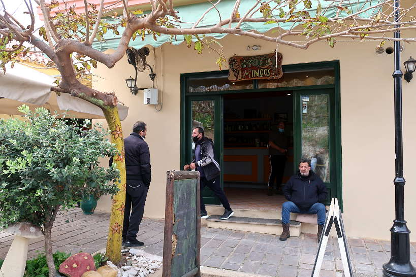 Kafeneio on Minos Street in Chania by Authentic Food Quest