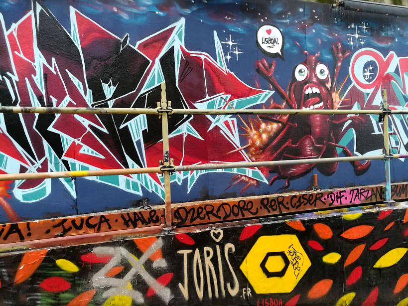Lisbon street art food tour by Authentic Food Quest