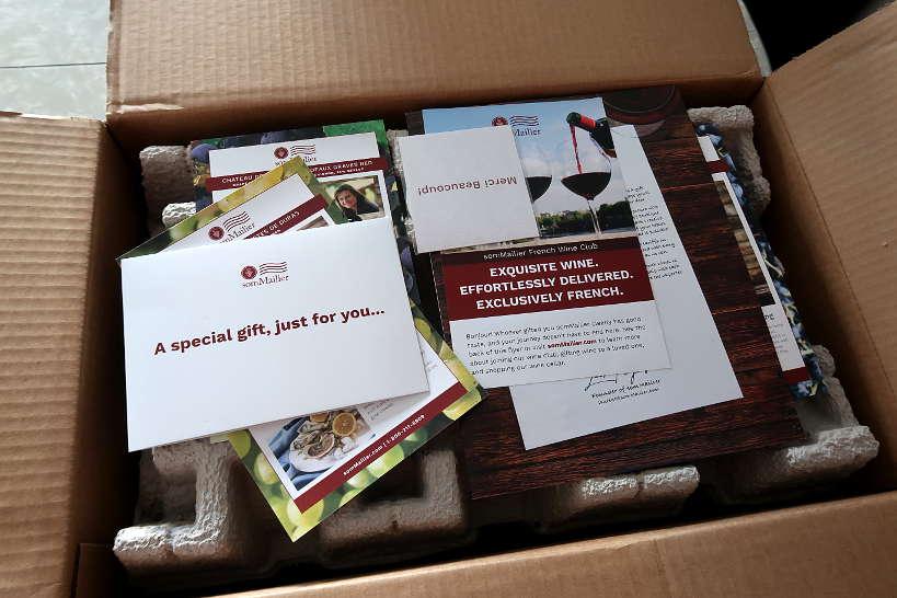 C'est la vie French Wine Club Sommailier box by AuthenticFoodQuest