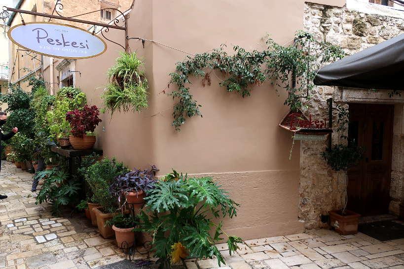 Peskesi best restaurant in Heraklion by Authentic Food Quest