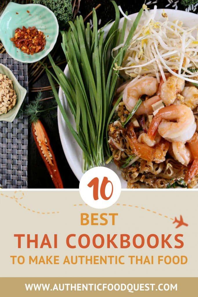 Pinterest 10 Best Thai Cookbooks by Authentic Food Quest