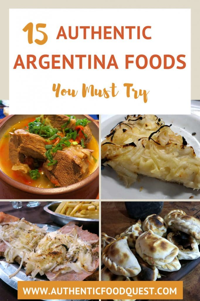 selection of Food in Argentina by AuthenticFoodQuest