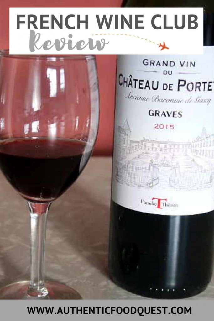 Pinterest French Wine Club by AuthenticFoodQuest