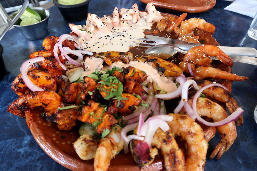 Seafood Platter at Ponte Trucha Negro by AuthenticFoodQuest