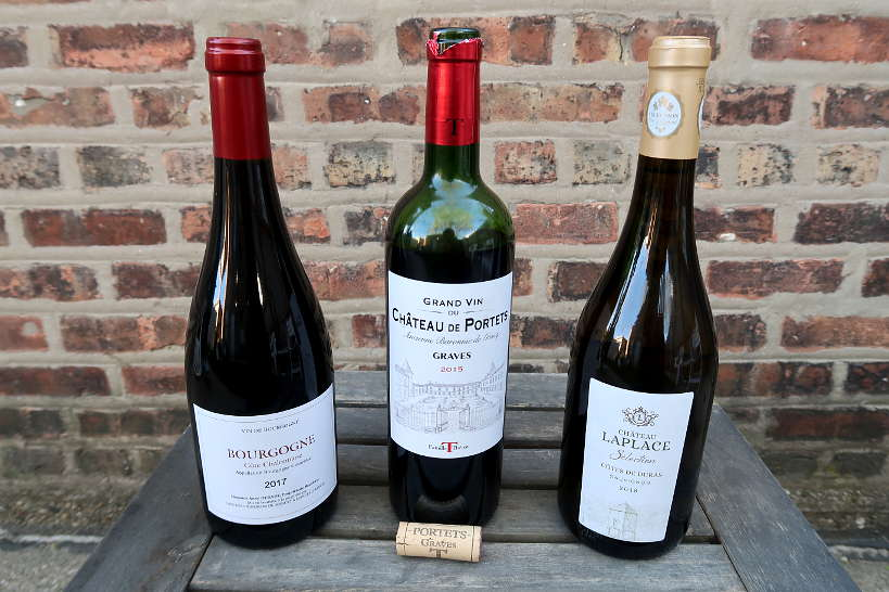 French Wines bottles from Sommailier by AuthenticFoodQuest