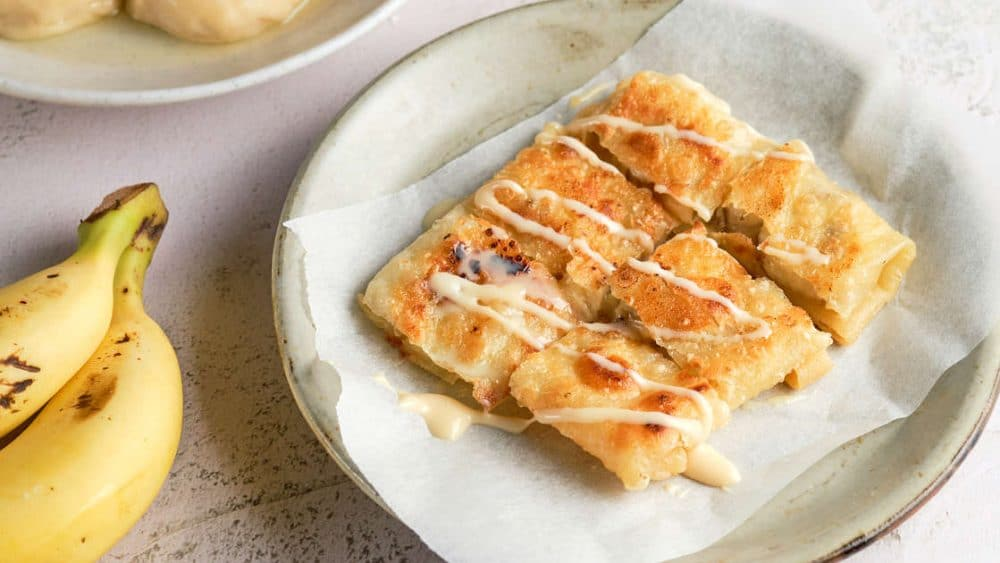 Banana Thai Roti by Authentic Food Quest