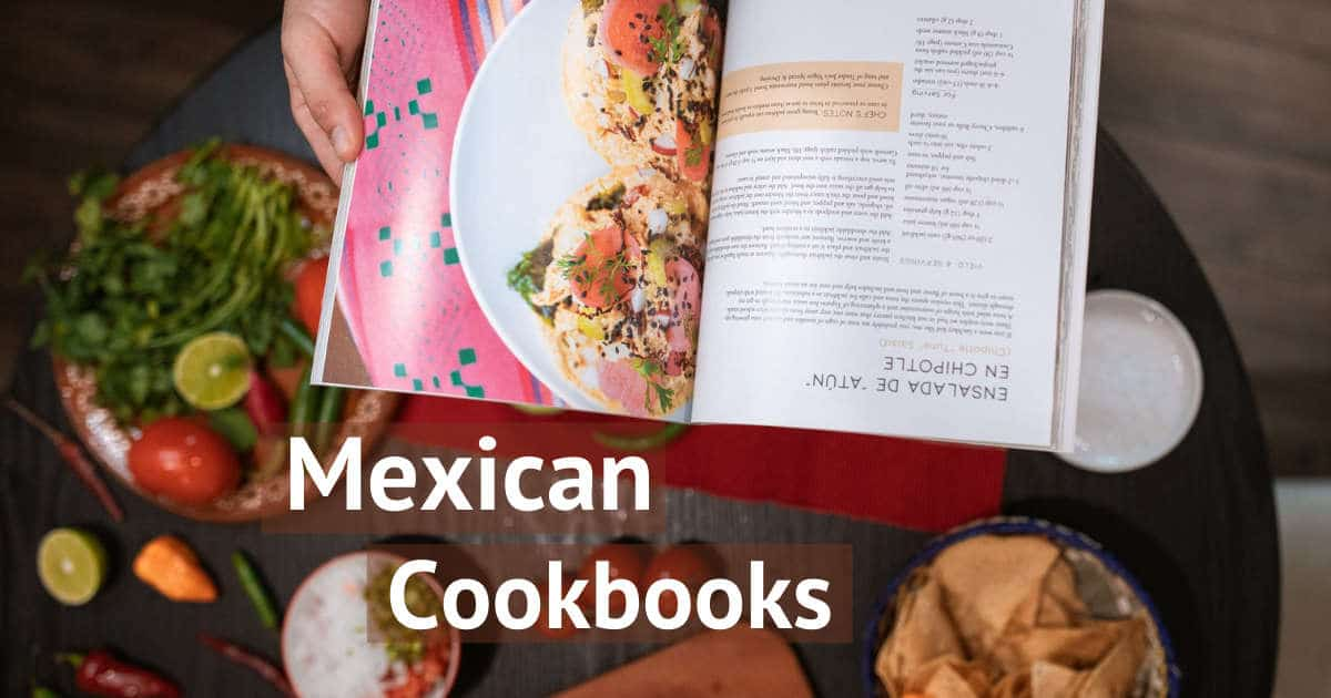 1200 Mexican Cookbooks by Authentic Food Quest Food