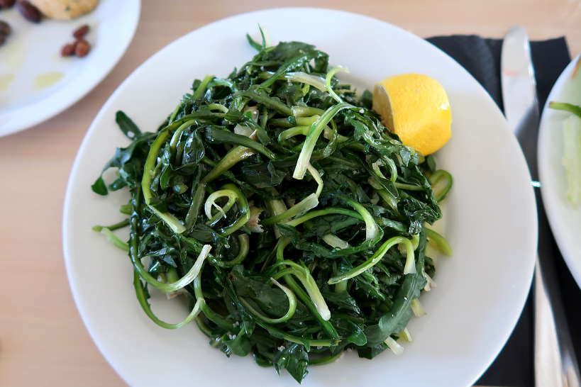 Horta Wild Green atypical Food in Greece by AuthenticFoodQuest