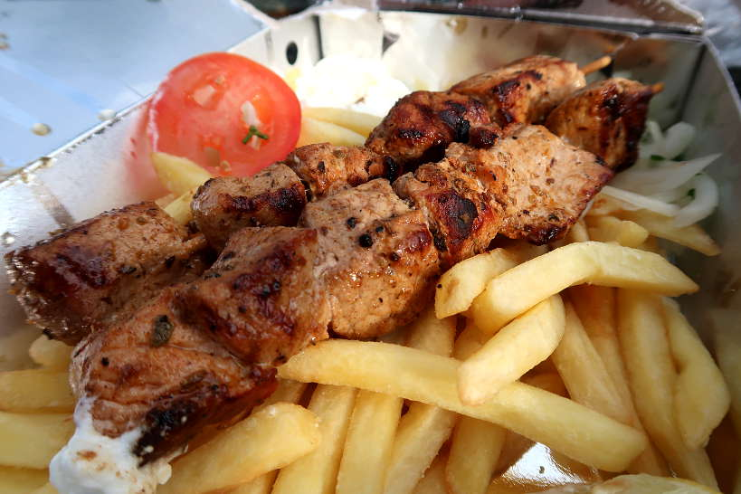Souvlaki a Popular Food in Greece by AuthenticFoodQuest