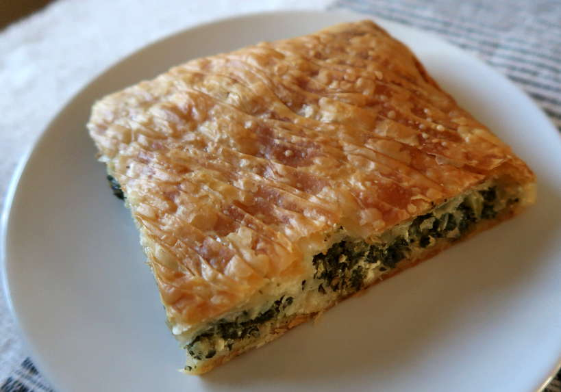 Spanakopita Traditional Greece food by AuthenticFoodQuest