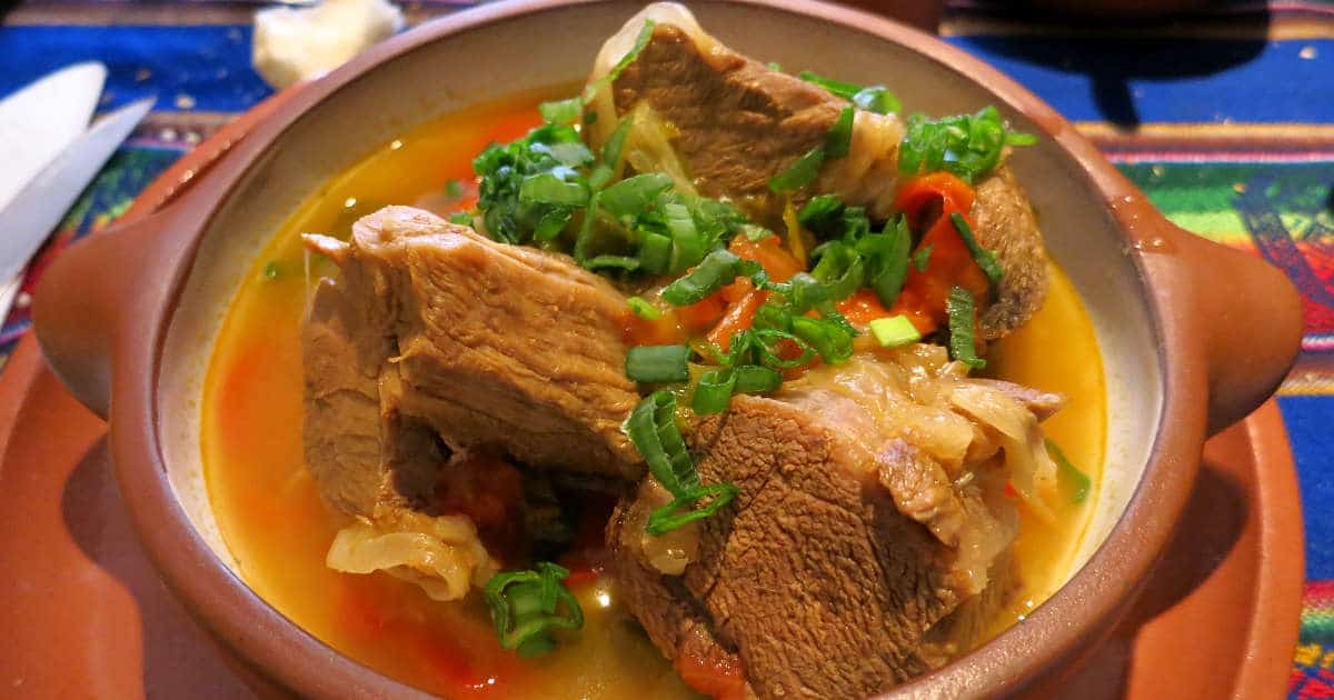 Llama meat Stew by AuthenticFoodQuest