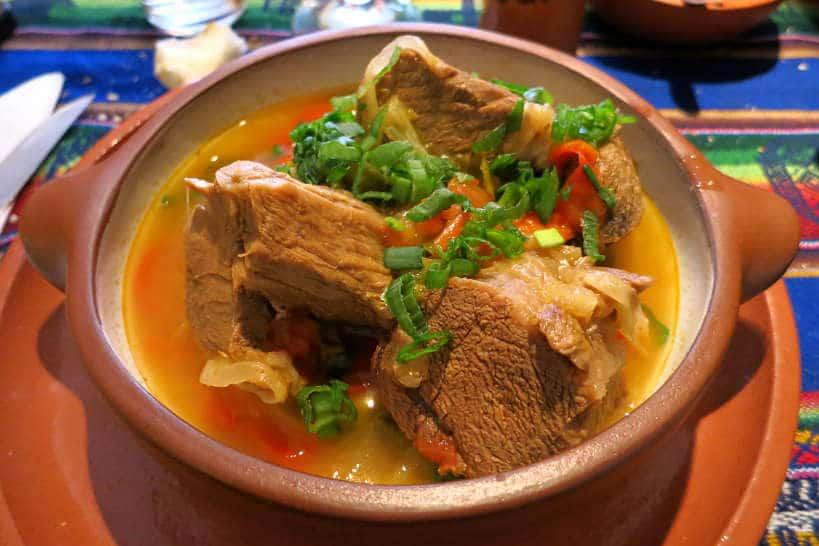 Cazuela de Llama a Llama Stew in Argentina by AuthenticFoodQuest