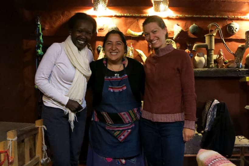 Chef Ines with Rosemary and Claire by AuthenticFoodQuest