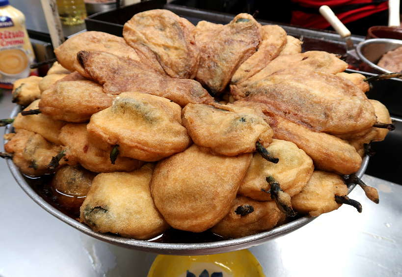Chile Rellenos at Guadalajara Market by Authentic Food Quest