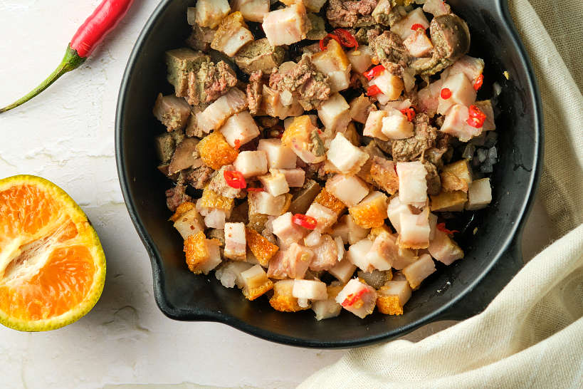 Colorful Pork Sisig by Authentic Food Quest