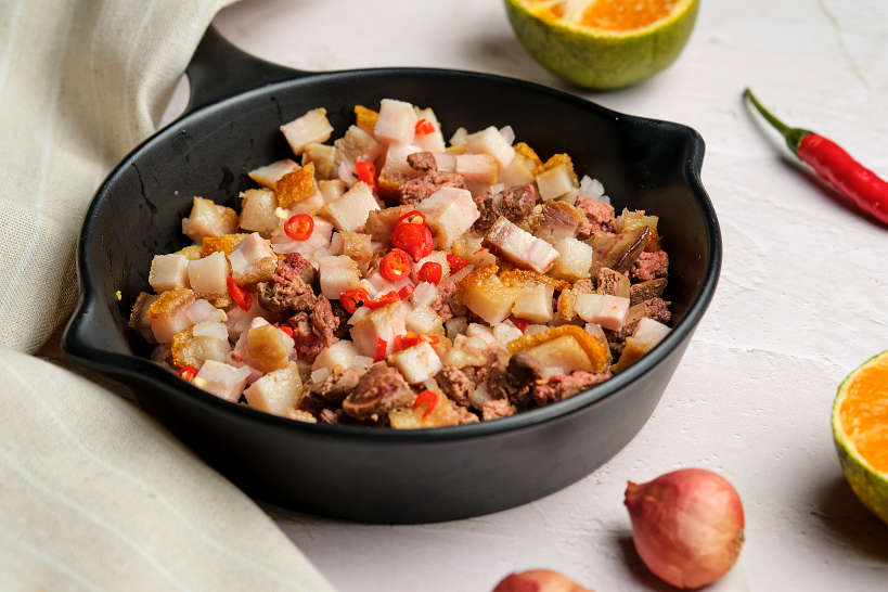 Crunchy Pork Sisig by Authentic Food Quest