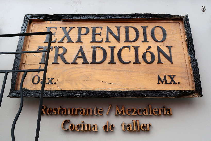 Expendio Tradicion Mezcaleria Oaxaca by Authentic Food Quest