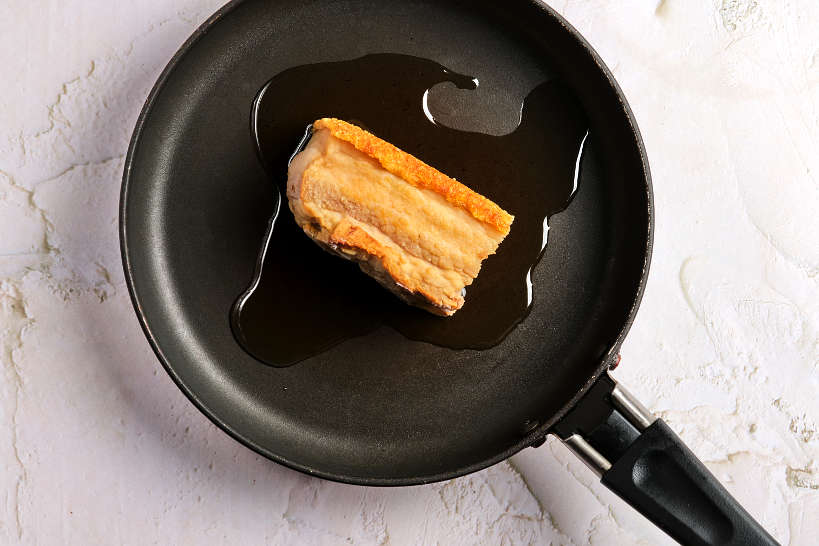 Golden Brown Pork Belly by Authentic Food Quest