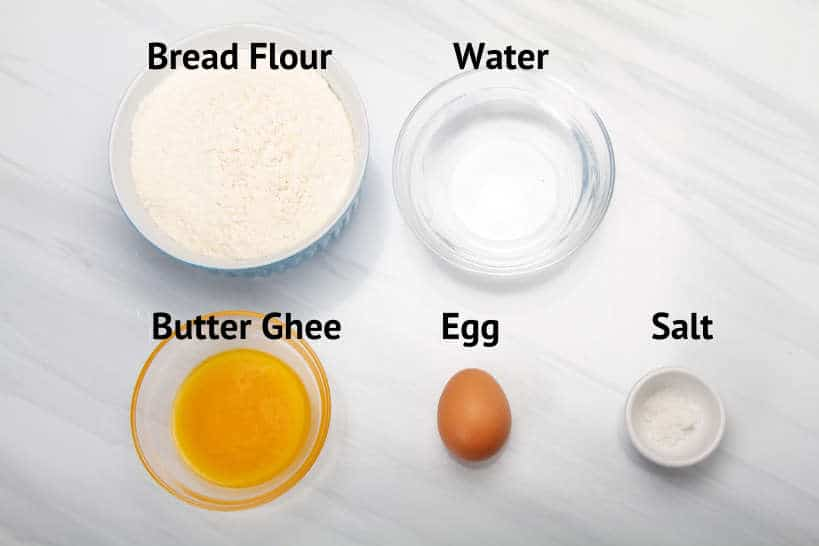 Ingredients Murtabak Dough by Authentic Food Quest