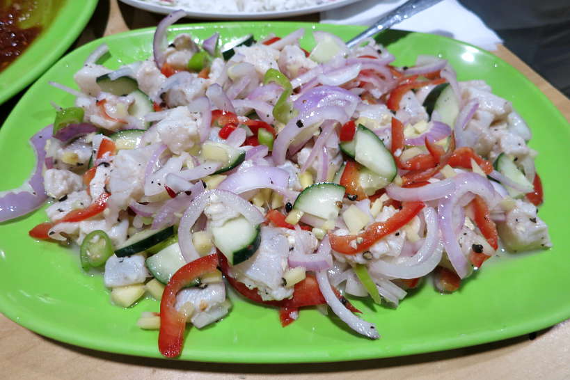 Kinilaw Filipino Ceviche by Authentic Food Quest