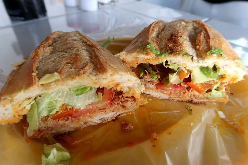Lonches Mexican Sandwich by AuthenticFoodQuest