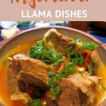 Llama Meat casserole by AuthenticFoodQuest