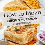 Pinterest Singapore Murtabak Recipe by Authentic Food Quest