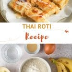 Pinterest Thai Roti Bread Recipe by Authentic Food Quest