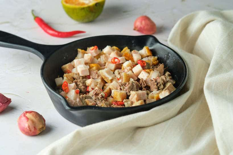 Pork Sisig Recipe by Authentic Food Quest