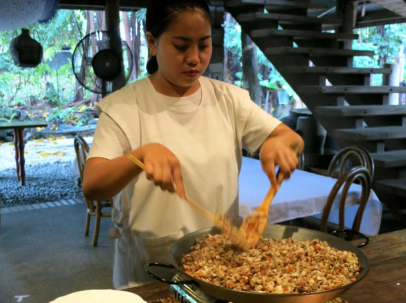 Pork Sisig at Bale Dutung by Authentic Food Quest