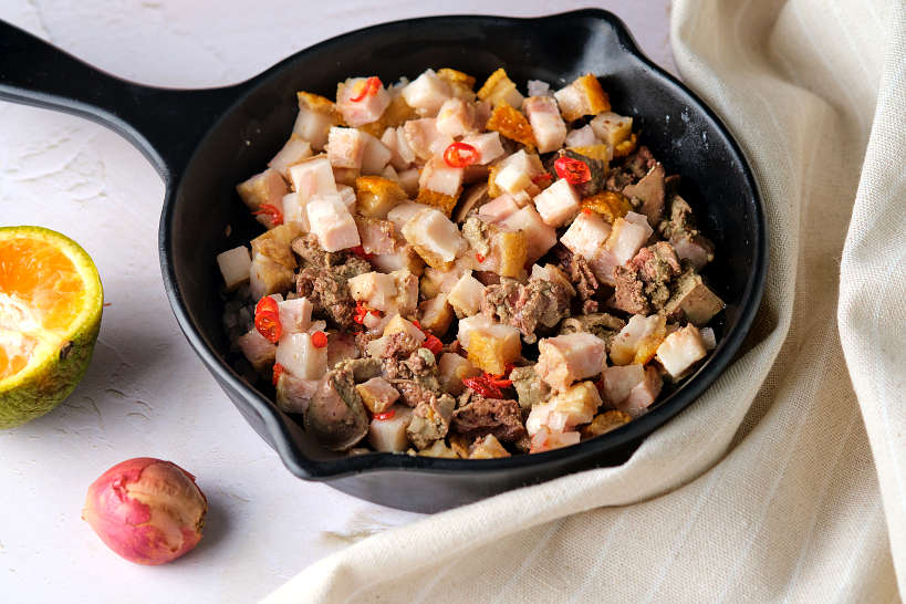 Recipe for Pork Sisig by Authentic Food Quest