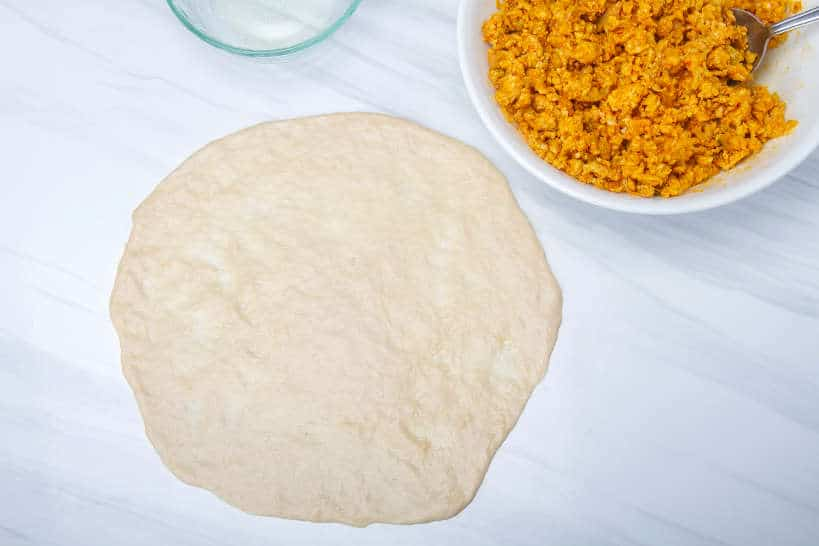 Shaping Murtabak Dough Step 9 by Authentic Food Quest