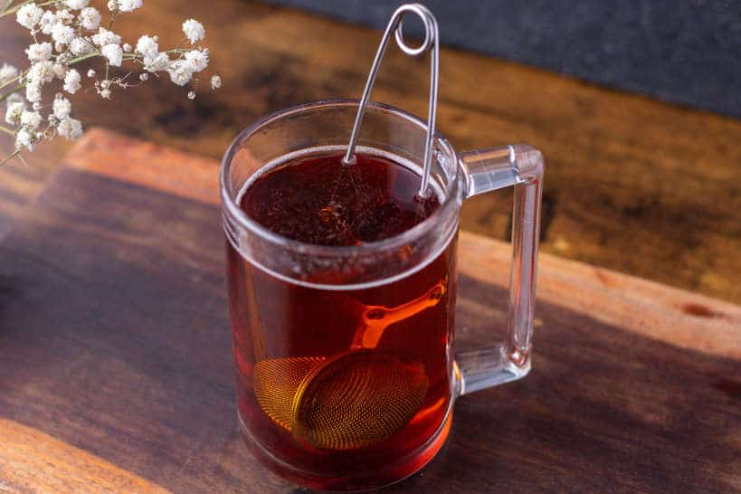 Steep the tea Step 2 by Teh Tarik Recipe by Authentic Food Quest