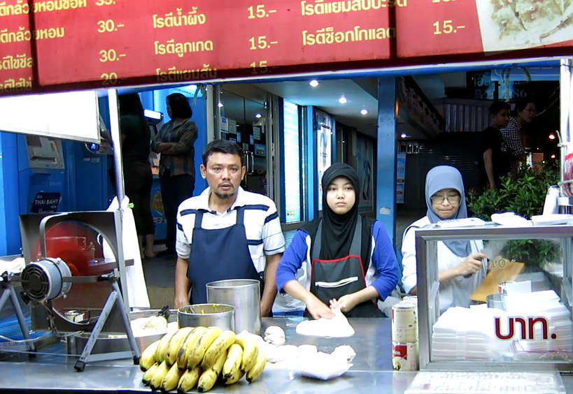 Thai Roti Vendors in Thailand by Authentic Food Quest