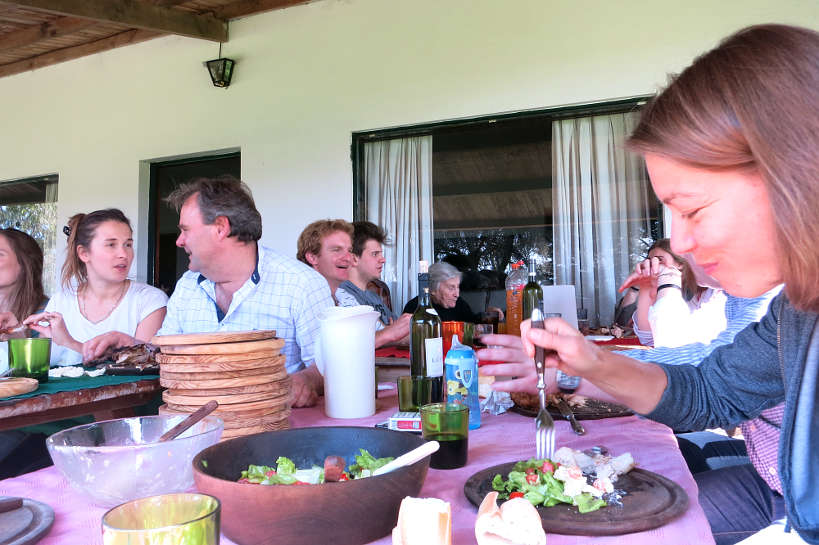 Eating at a Traditional Argentinian Asado by Authentic Food Quest