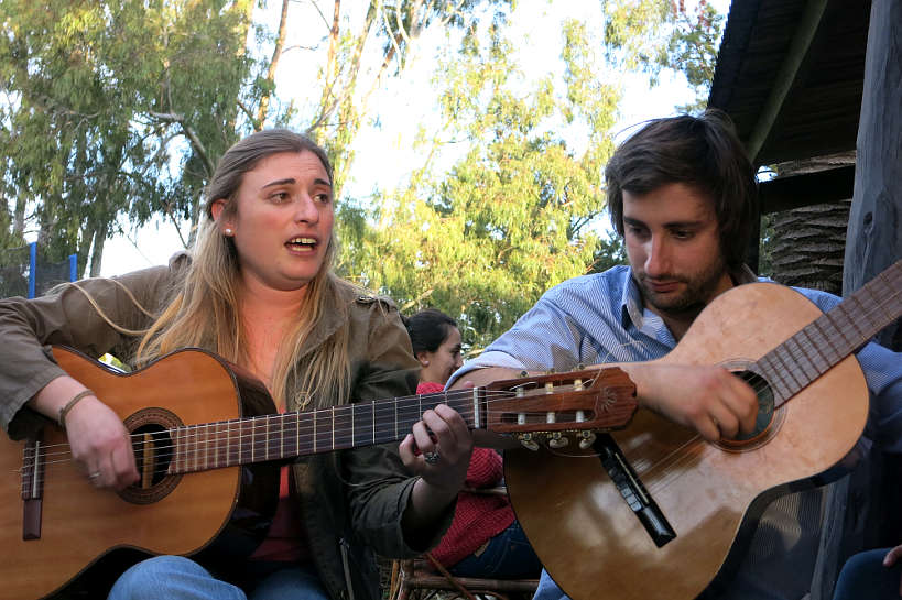 Folklore Music Argentinian Asado by Authentic Food Quest