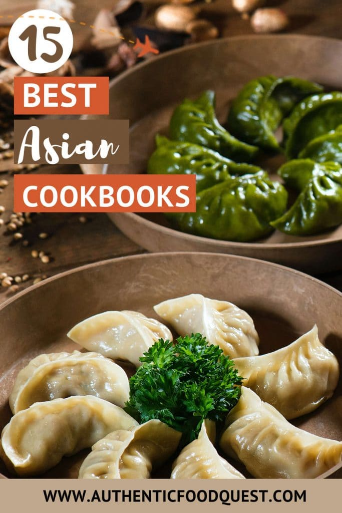 Pinterest Top Asian Cookbooks by Authentic Food Quest