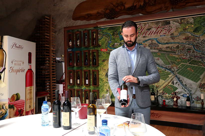 Plantaze Wine Tasting with Bojan by Authentic Food Quest