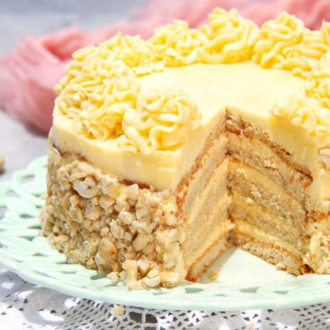 Recipe for Sans Rival Cake by Authentic Food Quest