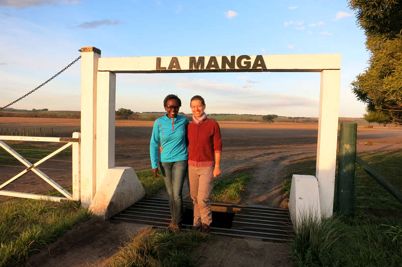 Rosemary and Claire Estancia La Manga by Authentic Food Quest