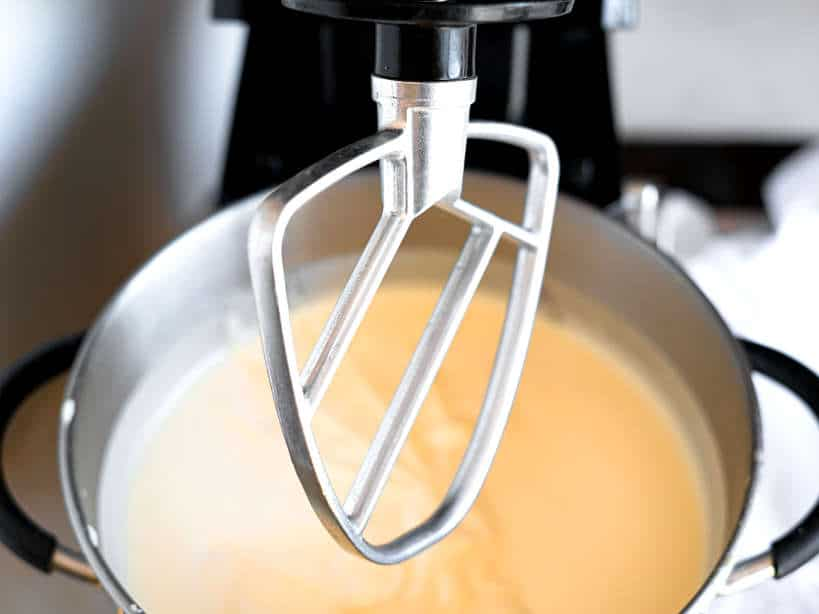 Fold flour Pao de Lo Cake by Authentic Food Quest