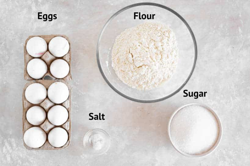 Ingredients Pao de Lo Recipe by Authentic Food Quest