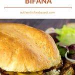 Pinterest Bifana Sandwich by Authentic Food Quest