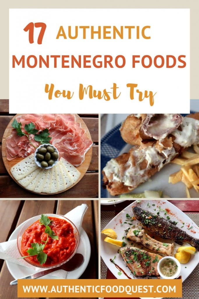 Pinterest Food in Montenegro by Authentic Food Quest