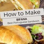 Pinterest Portuguese Sandwich by Authentic Food Quest