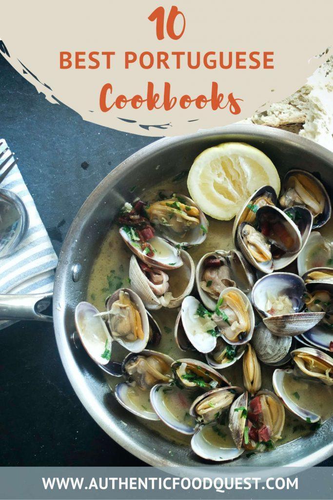 Pinterest Top Portuguese Cookbooks by Authentic Food Quest